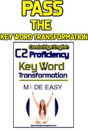 Key word transformation proficiency